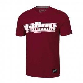 Koszulka Pit Bull Classic Boxing '20 - Bordowa