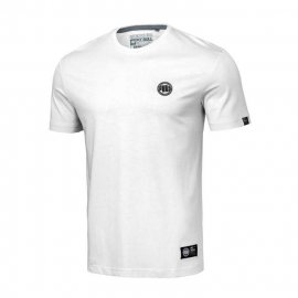 Koszulka Pit Bull Small Logo '20 - Biała