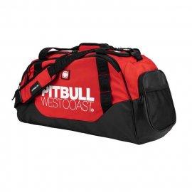 Torba sportowa Pit Bull TNT 50L '21 - Czarna/Czerwona