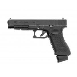 Pistolet 6mm Umarex Glock 34 GEN4 DELUXE BLOW BACK CO2