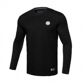 Koszulka z długim rękawem Pit Bull Small Logo - Czarna