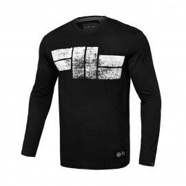 Koszulka z długim rękawem Pit Bull Classic Logo - Czarna
