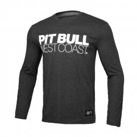 Koszulka z długim rękawem Pit Bull TNT - Grafitowa