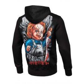 Bluza z kapturem Pit Bull Chucky - Czarna