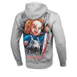 Bluza z kapturem Pit Bull Chucky'19 - Szara
