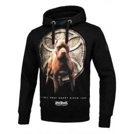 Bluza z kapturem Pit Bull Curb - Czarna