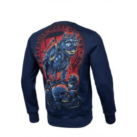 Bluza Pit Bull Skull Dog'19 - Granatowa