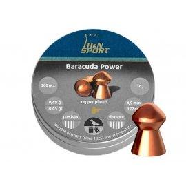 Śrut H&N 4,50mm diabolo Baracuda Power 300szt.