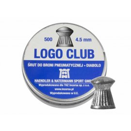 Śrut H&N 4,50mm diabolo Logo Club 500szt.