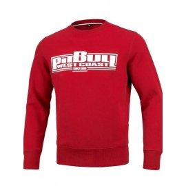 Bluza Pit Bull Classic Boxing - Czerwona