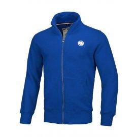 Bluza rozpinana Pit Bull Small Logo '20 - Niebieska