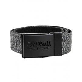 Pasek parciany Pit Bull Old Logo '21 - Grafitowy/Czarny