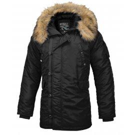Zimowa kurtka z kapturem Pit Bull Alder '20 - Czarna