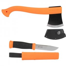 zestaw Morakniv Outdoor Kit MG - pomarańczowy