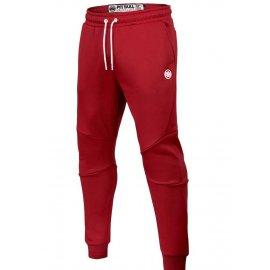 Spodnie dresowe Pit Bull Oldschool Small Logo '21 - Czerwone