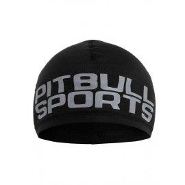 Czapka kompresyjna Pit Bull Special Sport Pitbull Sports'20 - Czarna