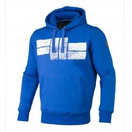 Bluza z kapturem Pit Bull Classic Logo - Niebieska