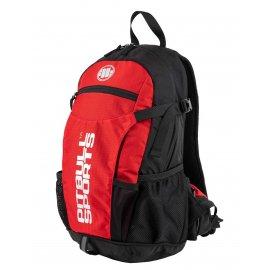 Plecak rowerowy Pit Bull PB Sports '21 - Czarny/Czerwony