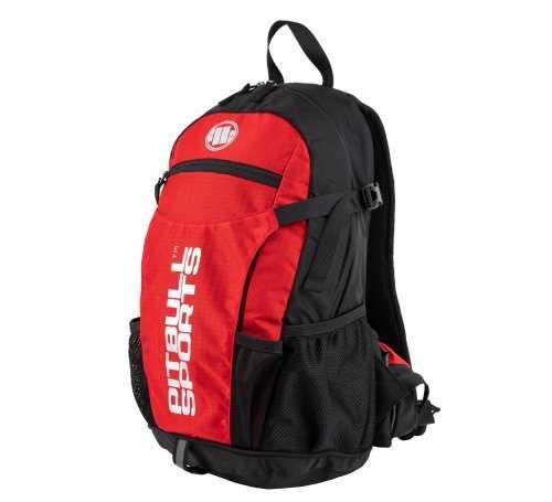 Plecak rowerowy Pit Bull PB Sports '21 - Czarny/Czerwony 919201.9045 5903242986918