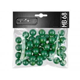 Kule UMAREX proszkowe T4E kal.68 - 50szt. green