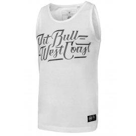 Tank Top Pit Bull Slim Fit Lycra Speed'20 - Biały