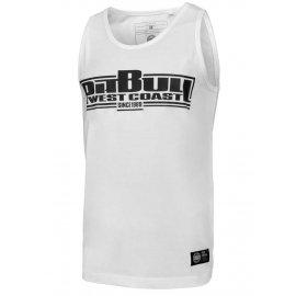Tank Top Pit Bull Slim Fit Lycra Boxing'20 - Biały