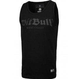 Tank Top Pit Bull Slim Fit Lycra Old Logo'20 - Czarny