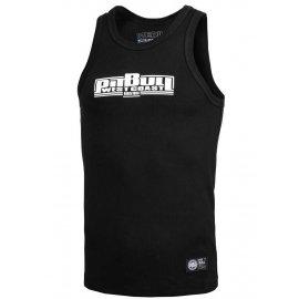 Tank Top Pit Bull Rib Boxing - Czarny