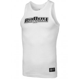 Tank Top Pit Bull Rib Boxing'20 - Biały