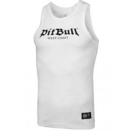 Tank Top Pit Bull Rib Old Logo'20 - Biały