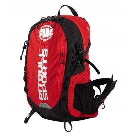 Plecak sportowy Pit Bull PB Sports '21 - Czarny/Czerwony