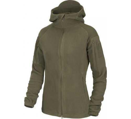 bluza damska Helikon CUMULUS - Heavy Fleece - taiga green BL-CBW-HF-09