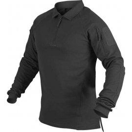 koszulka polo z długim rękawem Helikon RANGE - czarny