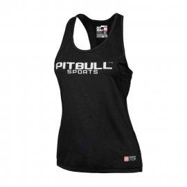 Tank Top termoaktywny damski Pit Bull Performance Pro Plus - Czarny