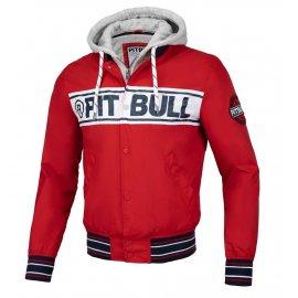 Kurtka z odpinanym kapturem Pit Bull Angler '20 - Czerwona