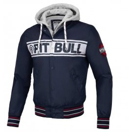 Kurtka z odpinanym kapturem Pit Bull Angler '20 - Granatowa