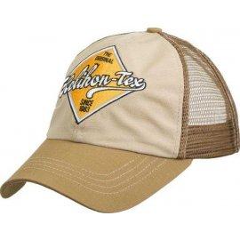 czapka Helikon Trucker Logo Cap - beżowy