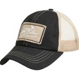 czapka Helikon Trucker Logo Cap - czarny