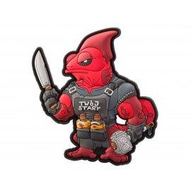 Emblemat Helikon Chameleon Trollsky Ambassador Czerwony
