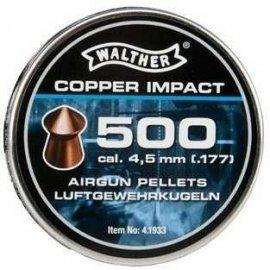 śrut 4,5 mm WALTHER COPPER IMPACT 500 szt.