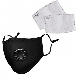 Maska ochronna na twarz FFP2 N95 PM2.5 z 2 Filtrami