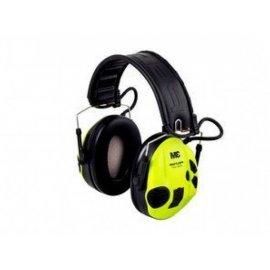 Ochronniki słuchu Peltor SportTac aktywne, zielono-żółte