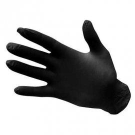 Rękawice jednorazowe PORTWEST nitrylowe A925 - niepudrowane czarne