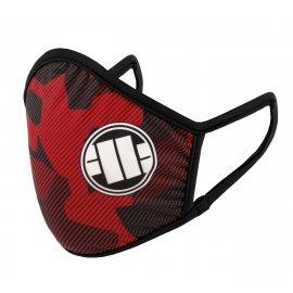 Maska ochronna Pit Bull Dillard '20 - Czerwona
