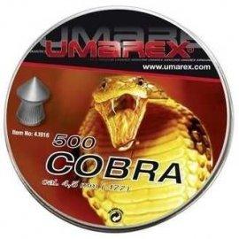 śrut 4,5 mm UMAREX COBRA szpic molet. 500 szt.