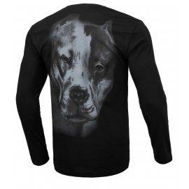 Koszulka z długim rękawem Pit Bull San Diego II'20 - Czarna