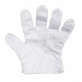 Rękawiczki foliowe jednorazowe [zestaw 100 szt.]