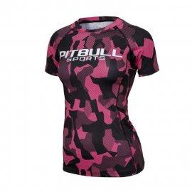 Rashguard termoaktywny damski T-S Pit Bull Dillard - Różowy