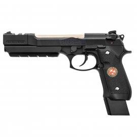 Pistolet 6mm Cybergun M92 Biohazard w/compensator