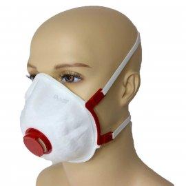 Polska Maska Wielokrotnego użytku ochronna przed wirusami i smogiem FS-33V FFP3 R D